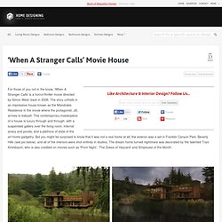 'When A Stranger Calls' Movie House