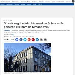 Strasbourg: Le futur bâtiment de Sciences Po portera-t-il le nom de Simone Veil?