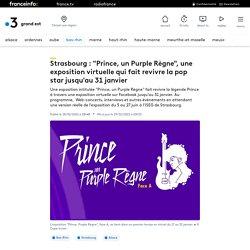 "EVENT : ISEG Strasbourg - Exposition ""Prince, un Purple Règne"""