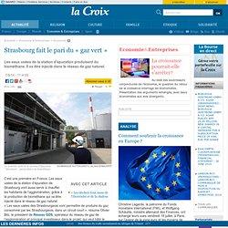 Strasbourg fait le pari du «gaz vert»