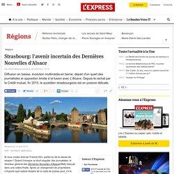 Strasbourg: l'avenir incertain des Dernières Nouvelles d'Alsace