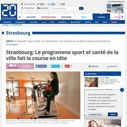 Strasbourg: Le programme sport et santé de la ville fait la course en tête
