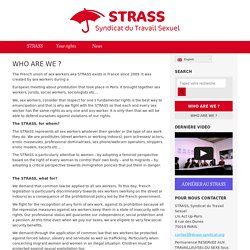 STRASS – Syndicat du Travail Sexuel