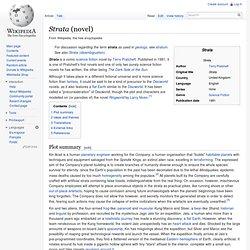 Strata (novel)