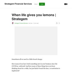by Strategem Financial Services
