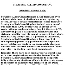 Strategic Allied Consulting | Working for you.