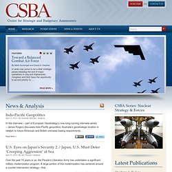 Center for Strategic and Budgetary Assessments | CSBA