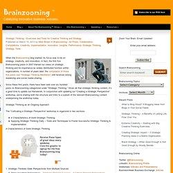 Strategic Thinking - Exercises & Tools for Creative Thinking & Strategy