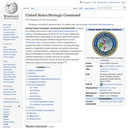 United States Strategic Command - Wikipedia