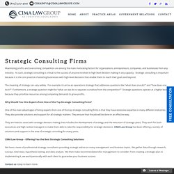 Best Strategic Consulting Firms in Phoenix - Cima Law Group, PC
