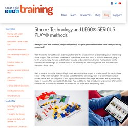 Strategic Play Group Ltd. - Diagnostic Cards based on LEGO® SERIOUS PLAY® Methods Now with Stormz