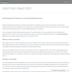 West Palm Beach SEO