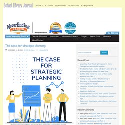The case for strategic planning