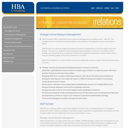 Strategic Human Resource Management Canberra, Staff Surveys Services