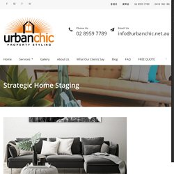 Urban Chic Property Styling Sydney