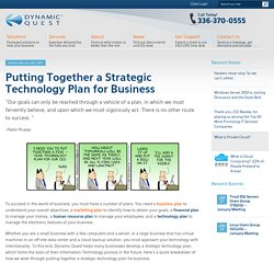 How to Create a Strategic Technology Plan for Business