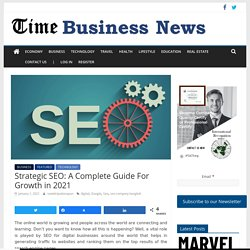 Strategic SEO: A Best Guide For UpgradeYour Business in 2020