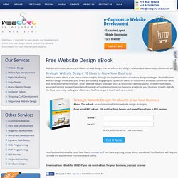 Strategic Website Design eBook