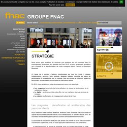 Site Institutionnel du goupe Fnac