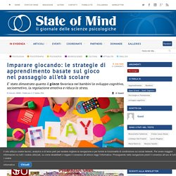 Gioco: le strategie ludiche per favorire l'apprendimento nei bambini