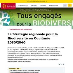 La Stratégie régionale pour la Biodiversité en Occitanie 2030/2040