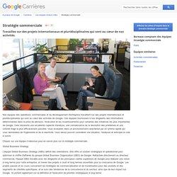 Stratégie commerciale - Google Carrières