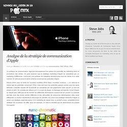 Analyse de la stratégie de communication d'Apple