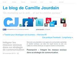 Intégrer les réseaux sociaux dans sa strategie de communication | LE MARKETING SUR LE WEB