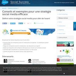 Définir une Stratégie social média: conseils et exemples