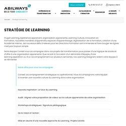 Stratégie de learning - ABILWAYS