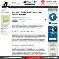 Guerre du Mali et stratégie pour une défense française