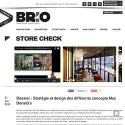 Dossier : Stratégie et design des différents concepts Mac (...)