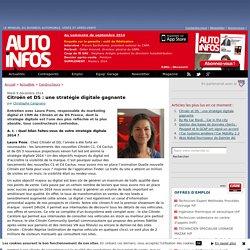 Citroën et DS : une stratégie digitale gagnante