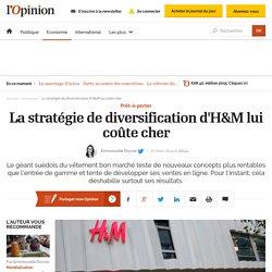 La stratégie de diversification d'H&M lui coûte cher