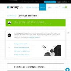 Stratégie éditoriale, expertise contenu — IAFACTORY