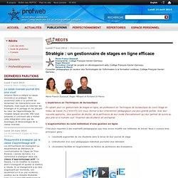 Stratégie : un gestionnaire de stages en ligne efficace