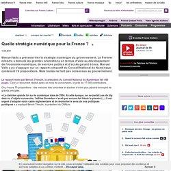 Quelle stratégie numérique pour la France ? - Information - France Culture