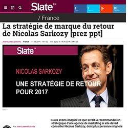La stratégie de marque du retour de Nicolas Sarkozy [prez ppt]