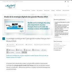 La stratégie numérique des 5 plus grands musées français d'art – MuseumWeek