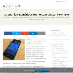 La stratégie numérique d'un restaurant par l'exemple – NovoLaB