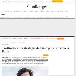 La stratégie du patron France de Lime pour survivre à Paris