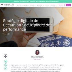 Stratégie digitale de Decathlon : deux piliers de performance