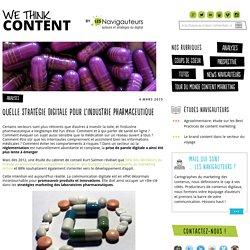 Quelle stratégie digitale pour l'industrie pharmaceutique - We think content