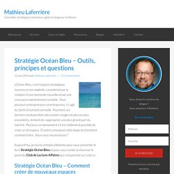 Stratégie Océan Bleu - Outils, principes et questions