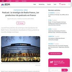 Podcast : la stratégie de Radio France, 1er producteur de podcasts en France