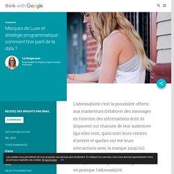 Marques de Luxe et stratégie programmatique : comment tirer parti de la data ?