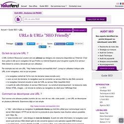 Url : Stratégie d'url pour le référencement naturel