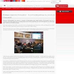 Stratégie régionale d'innovation : la commande publique au service de...