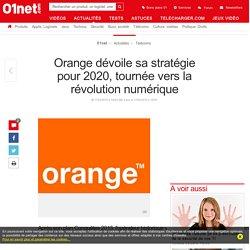 Orange dévoile sa stratégie pour 2020, tournée vers la révolution numérique