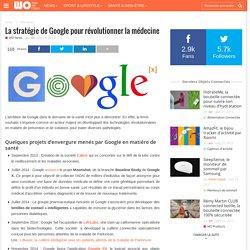 La stratégie de Google pour révolutionner la médecine